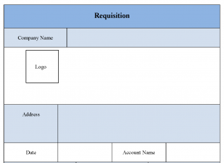 Requisition Form Format