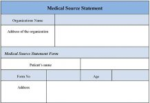 Medical Source Statement Form