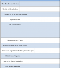 Airline Reservation Form