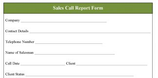 Service report template sales call report form free daily sales tag free download sales call report form altavistaventures Image collections