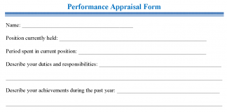 Tag: Performance Appraisal Form Pdf